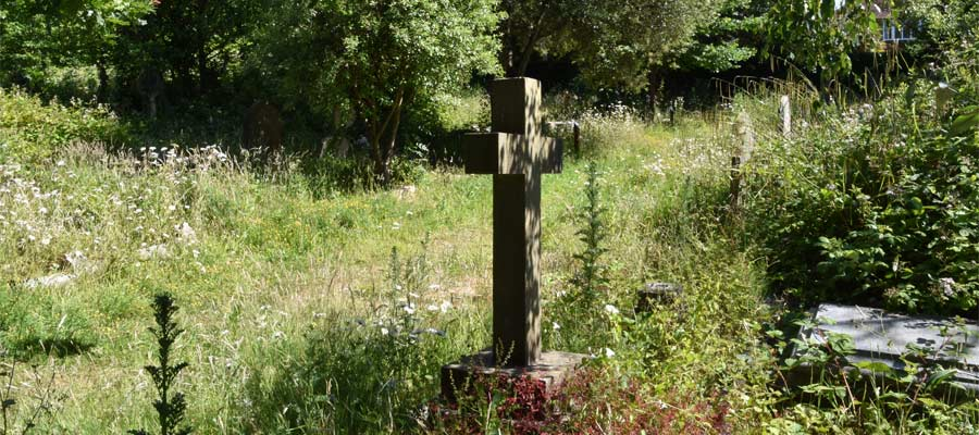 An examination of the soil profile and texture in Heene Cemetery.
